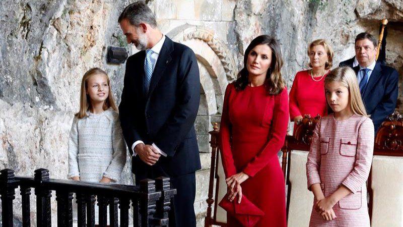 Primer acto oficial de la Princesa de Asturias como heredera de la Corona