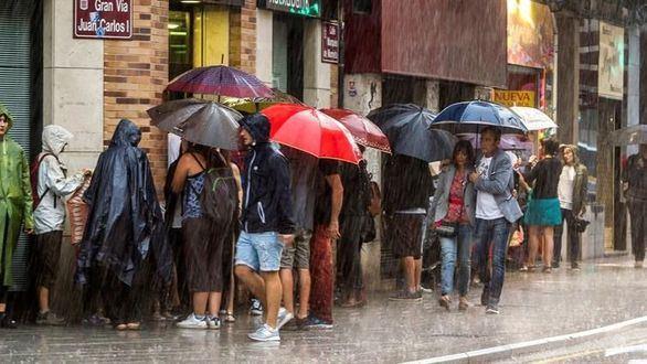 29 provincias en alerta por fuertes lluvias