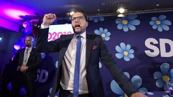 La extrema derecha se convierte en el tercer partido más votado en Suecia