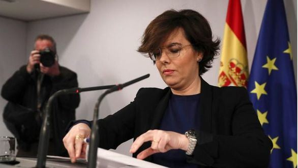 Sáenz de Santamaría abandona la política y renuncia a su escaño