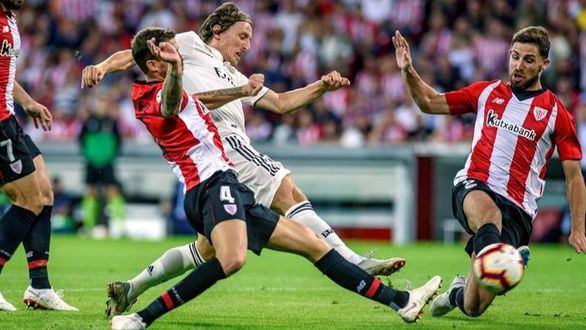 La posesión del Madrid de Lopetegui empata en la batalla de Bilbao | 1-1