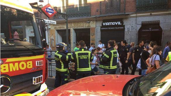 Desalojado un tren de Metro de Madrid tras estallar un ordenador