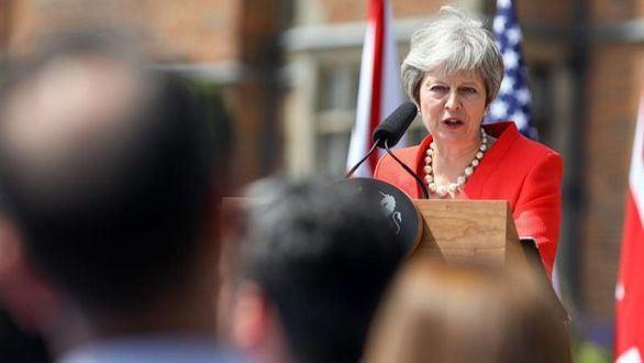 May proclama que el 'brexit' saldra con su plan o nada
