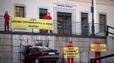 Acción de Greenpeace en el Museo Reina Sofía