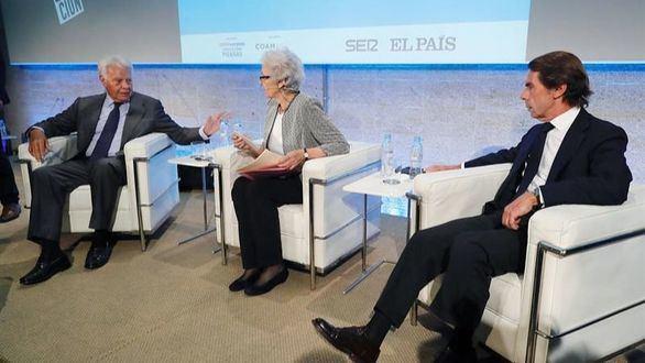 Aznar y González elogian a la Constitución como fuente de convivencia