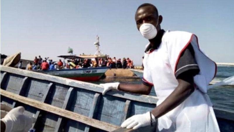 Dos tercios de las 224 víctimas mortales del naufragio en el