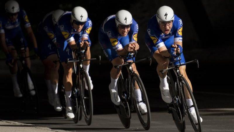 Mundial de ciclismo. El Quick-Step, oro en la crono por equipos