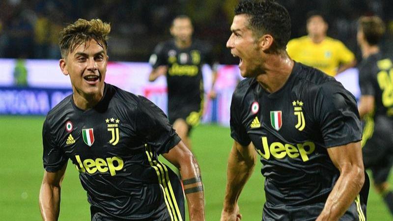 Ligas europeas. Ronaldo mantiene a la Juventus en pleno de triunfos
