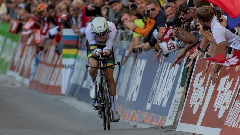 Mundial de ciclismo. Rohan Dennis brilla y gana el oro en la contrarreloj