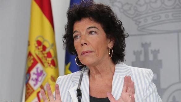 La portavoz del Gobierno, Isabel Celaá, en una imagen de archivo
