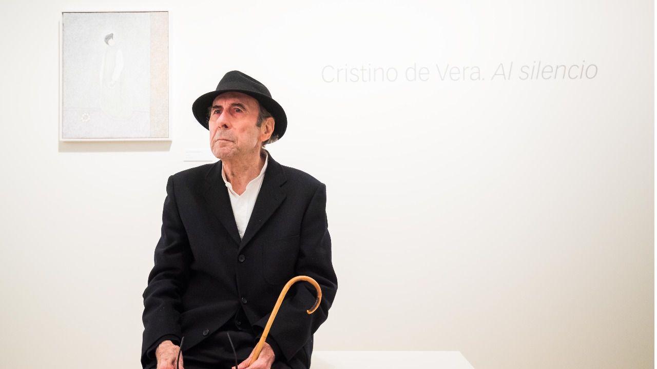 Cristino de Vera. Al silencio, síntesis de toda una vida de trabajo artístico