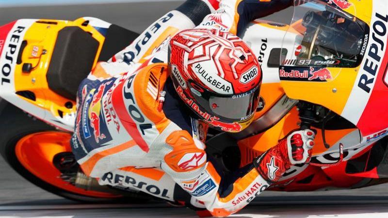 GP de Tailandia. Marc Márquez firma una histórica 'pole' y se acerca al título Mundial