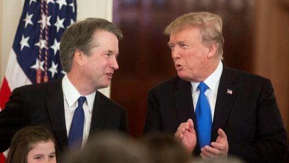 Kavanaugh, el candidato de Donald Trump señalado por violación
