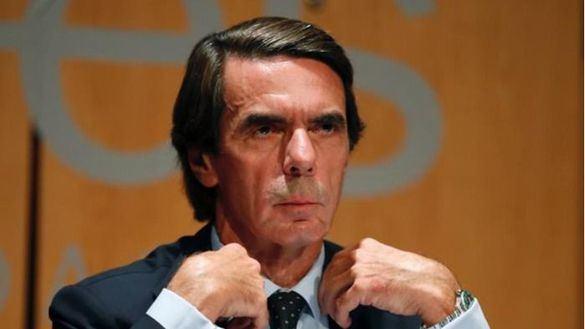 Aznar aboga por la refundación del centroderecha