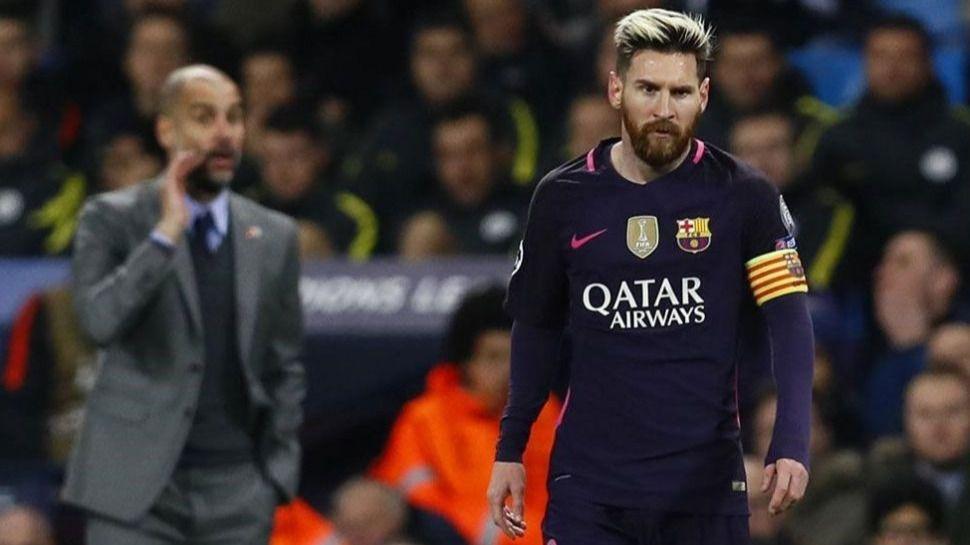 Guardiola: Messi sólo funciona