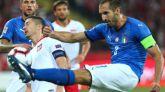 Liga de Naciones. Italia sobrevive con un gol anotado en el minuto 92