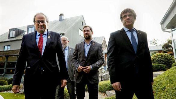 Torra: el auge de la economía catalana coincide con el independentismo