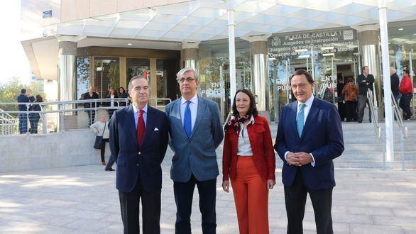 José María Alonso reclama más espacio para los abogados en Plaza Castilla