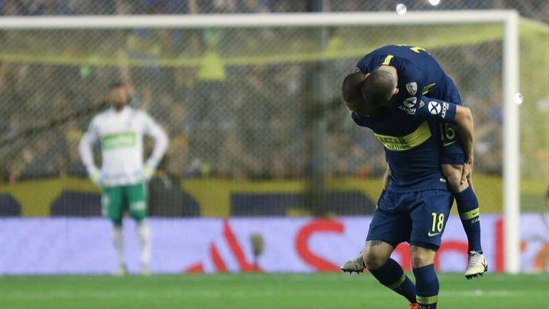 Copa Libertadores. Benedetto destroza al Palmeiras y Boca toca la final   2-0