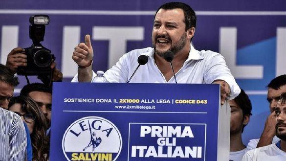 Donald Trump aplaude a Italia de Salvini por su