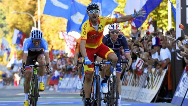 Alejandro Valverde gana el 'Balón de Oro' del ciclismo de 2018