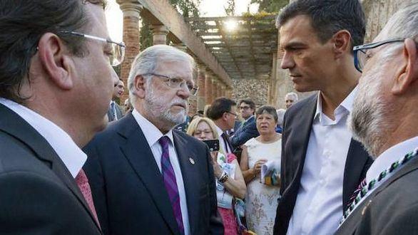 Rodríguez Ibarra niega a Sánchez: habla de 'golpe de Estado' secesionista
