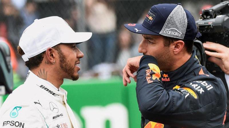 GP México. Daniel Ricciardo releva a Hamilton y se gana la 'pole'