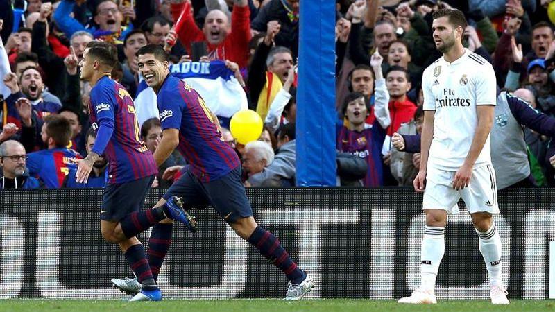 Clásico. Barcelona y Real Madrid aprenden a pelearse sin Messi ni Ronaldo