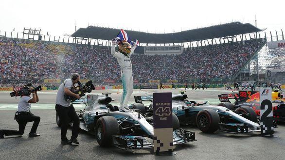 GP México. Verstappen gana y Hamilton se proclama campeón del Mundial