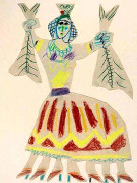 La Fiscalía pide dos años a Lucía Bosé por vender un dibujo de Picasso de su empleada