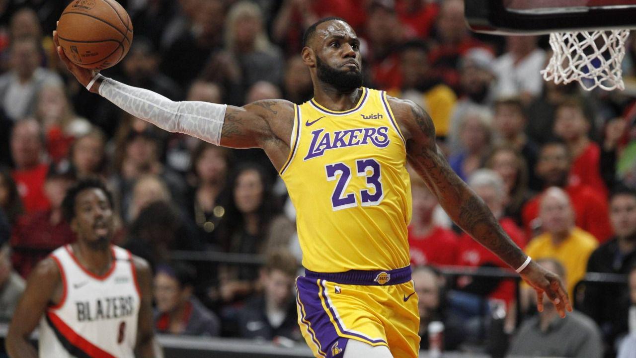NBA. Los Lakers de LeBron empiezan a carburar y Embiid despega
