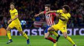 El Atlético se venga del Dortmund y renace en Europa | 2-0