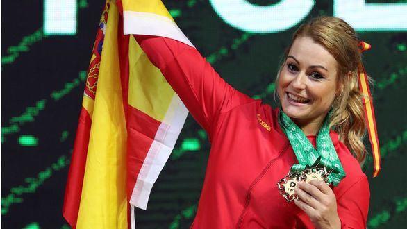 Lydia Valentín, otra vez campeona del Mundo