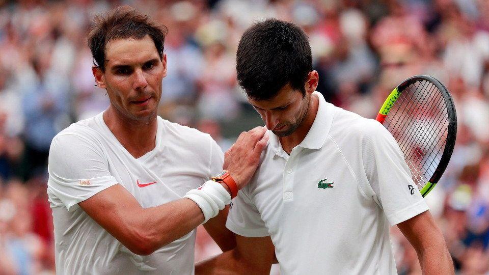 ATP. Djokovic se solidariza con Nadal y le envía un emotivo mensaje