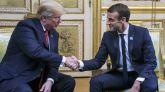 Tenso encuentro entre Trump y Macron por el futuro ejército europeo