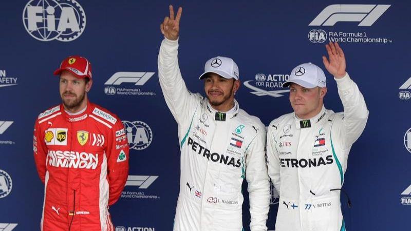 GP de Brasil. Hamilton no frena y firma su décima 'pole' de 2018