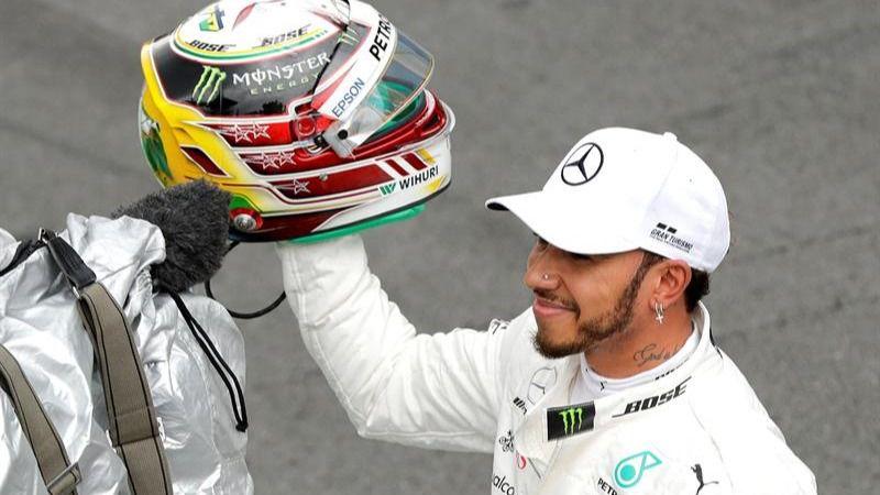 GP de Brasil. Hamilton también gana en Interlagos y Mercedes, campeón