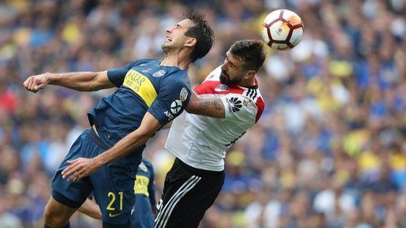 Copa Libertadores. River marca terreno ante Boca en la Bombonera | 2-2