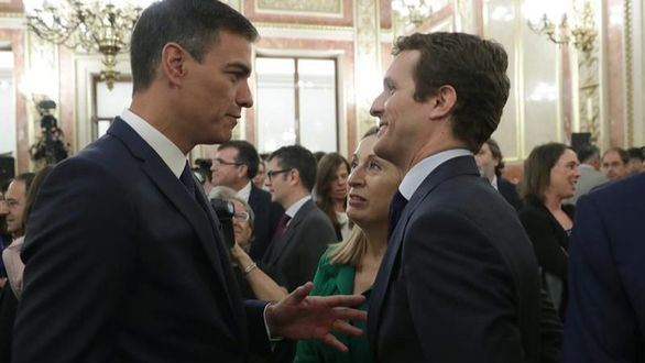 El Poder Judicial: el primer acuerdo de Sánchez y Casado pese a la ruptura de relaciones