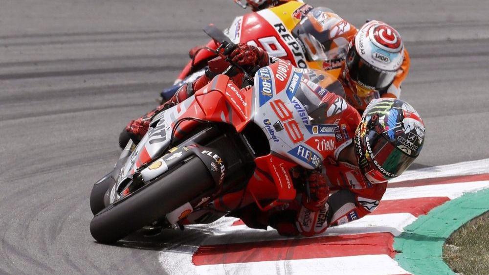MotoGP. Jorge Lorenzo, a Marc Márquez: