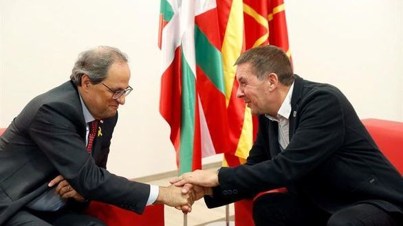 Torra anima al nacionalismo vasco a que aúnen fuerzas