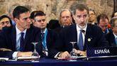 Felipe VII y Pedro Sánchez en la Cumbre Iberoamericana en Guatemala.