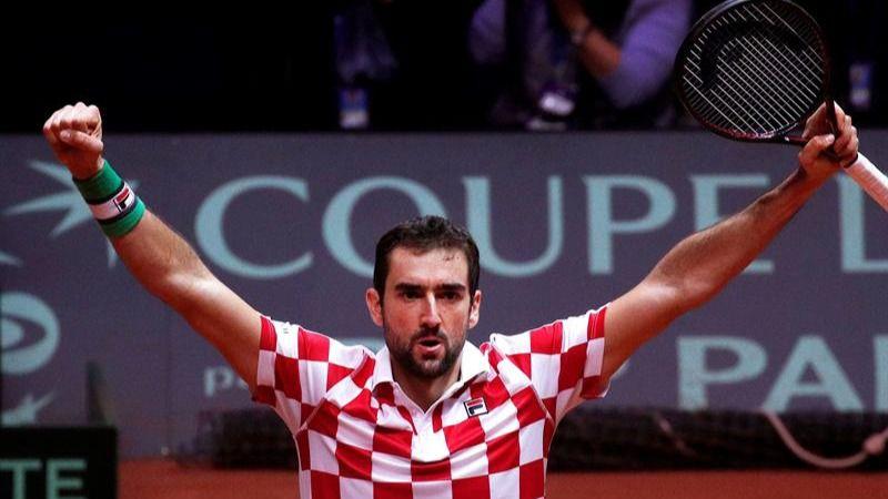Copa Davis. Croacia deja a Francia tocada en la última final del viejo torneo | 2-0