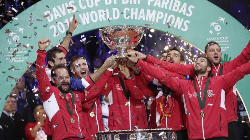 Copa Davis. Croacia toma Francia y se proclama campeona del último título | 1-3