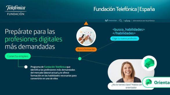 Telefónica crea una potente plataforma tecnológica para impulsar los empleos digitales