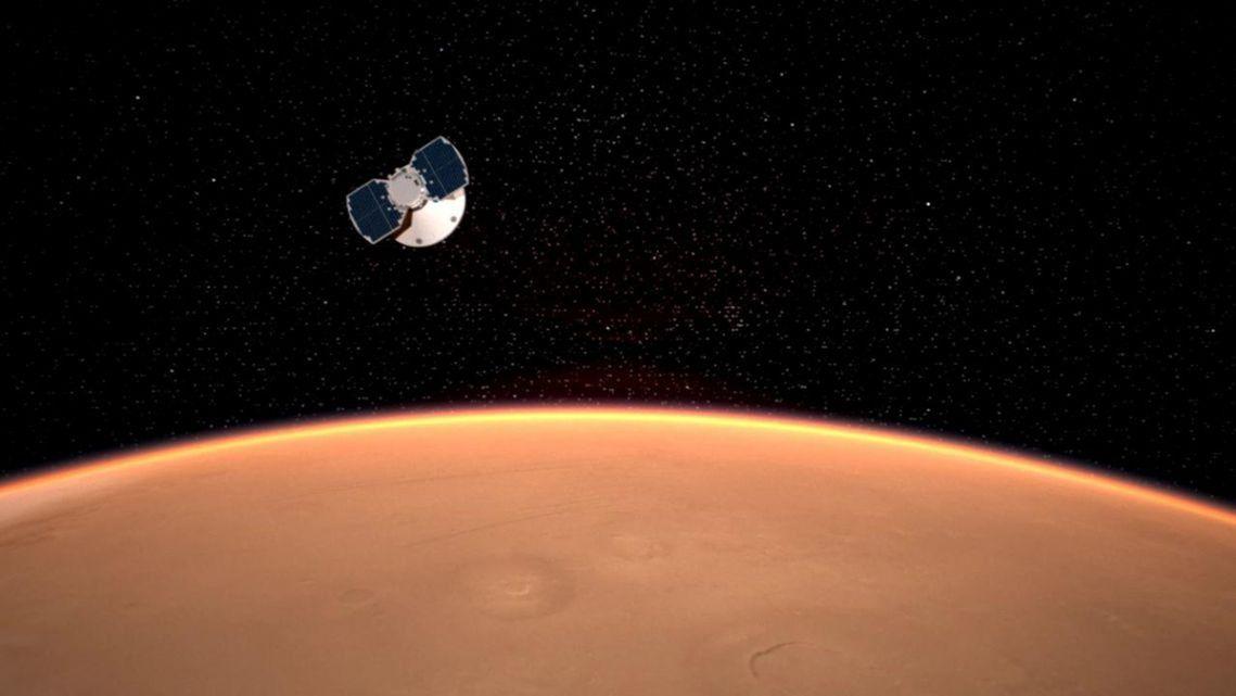 La sonda espacial InSight aterriza con éxito en la superficie de Marte