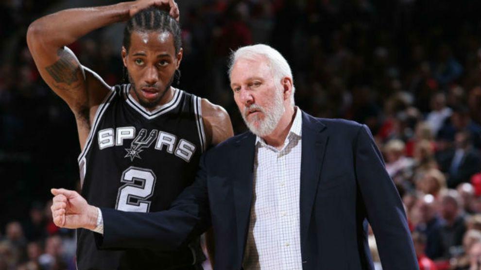 NBA. La guerra entre Popovich y Leonard estalla con Toronto en la cima de la liga
