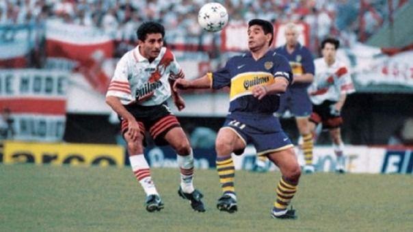 Copa Libertadores. Maradona ataca a Macri y pide que den el título a Boca