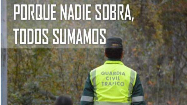 Manifestación de la Guardia Civil en Navarra en protesta por su