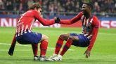 El Atlético alecciona al Mónaco y aterriza en octavos | 2-0